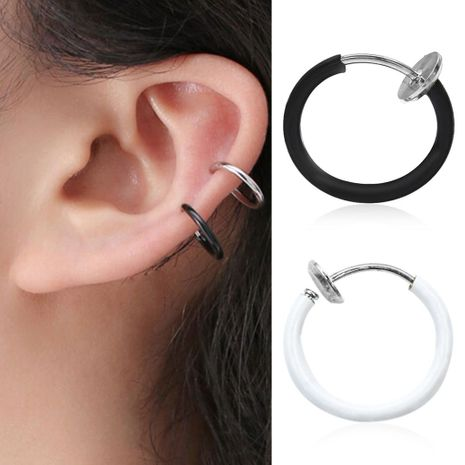 Fashion women round cuff clip earrings alloy alloy NHDP136160's discount tags