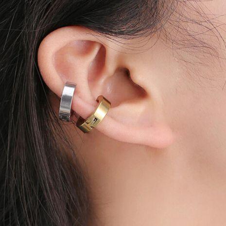 Fashion women round titanium steel ear cuff clip earrings alloy alloy NHDP136162's discount tags