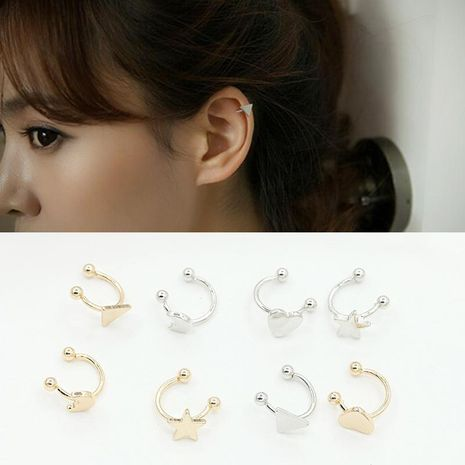 Fashion women triangle cuff clip earrings alloy alloy NHDP136163's discount tags