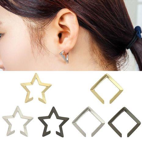 Fashion women triangle pentagon ear cuff clip earrings alloy alloy NHDP136164's discount tags