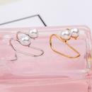 Fashion women beads Ushaped single ear cuff clip earrings alloy alloyen NHDP136146