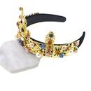 Womens Crown Plating Alloy Hair Band amp Headbands NHNT136338