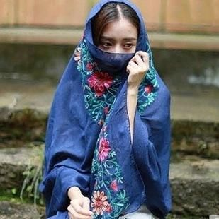 Ethnic style embroidery air conditioner shawl beach scarf NHTZ136611