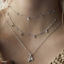 Womens geometric plating alloy Necklaces NHOT136884