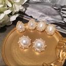 Temperament Sweet Drops Beads Stud Earrings NHWK136991
