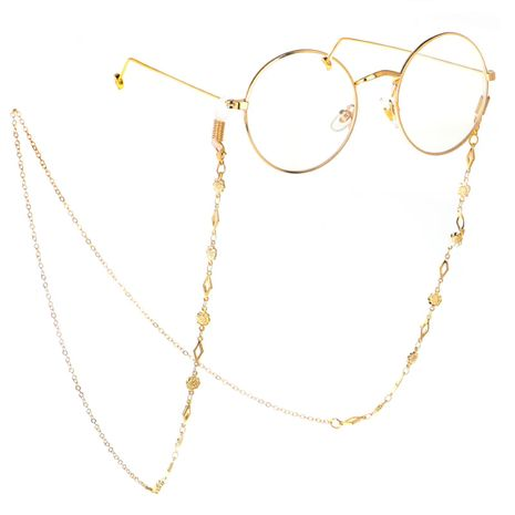 Fashion chain alloy flower glasses chain NHBC137234's discount tags