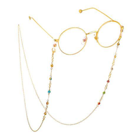 Colored rhinestone non-slip glasses chain NHBC137248's discount tags