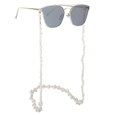 White small conch glasses chain NHBC137255's discount tags