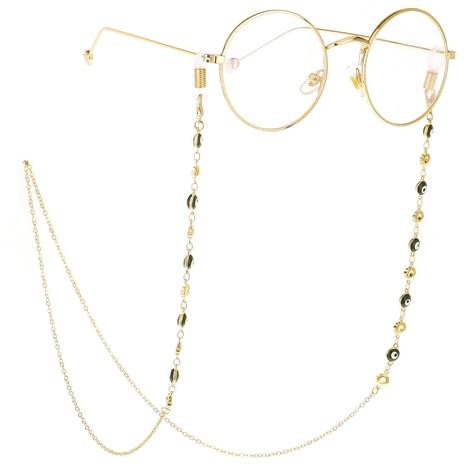 Fashion chain eye flower handmade glasses rope NHBC137253's discount tags