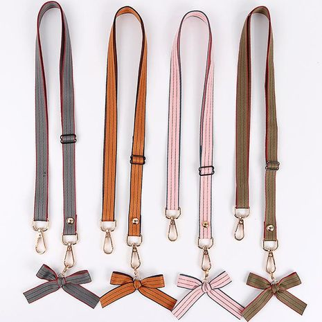 Korean style small fresh bow can be slanted mobile phone shell lanyard NHJP137272's discount tags