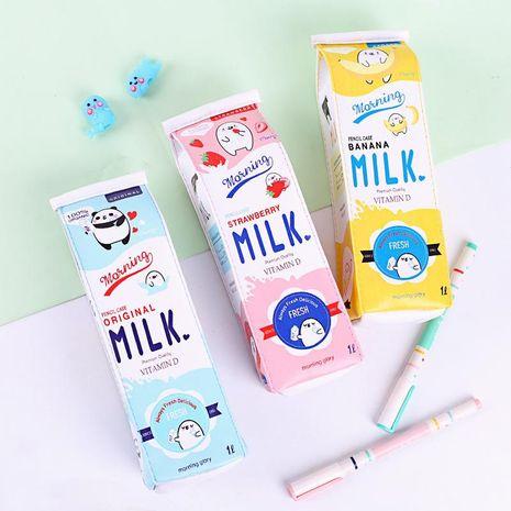 Cute Korean creative large capacity pencil bag NHHE137311's discount tags