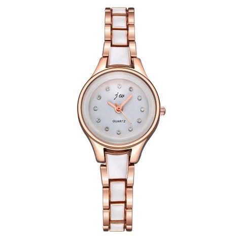 Korean fashion rhinestone banded bracelet watch NHSY137333's discount tags