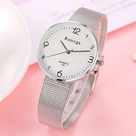 Fashion mesh mesh with quartz watch NHSY137338's discount tags
