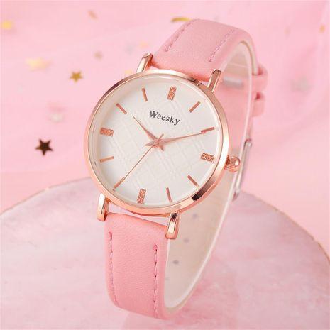 Simple College Wind Female Slim Quartz Wrist Watch NHSY137339's discount tags