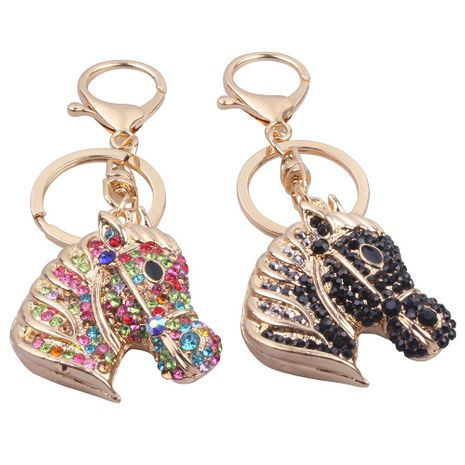 Fashion metal pendant unicorn keychain NHMM137393's discount tags
