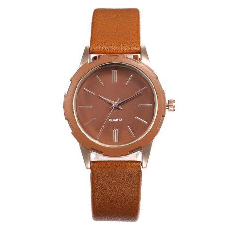 Creative leisure gear simple scale ladies belt quartz watch NHHK137477's discount tags