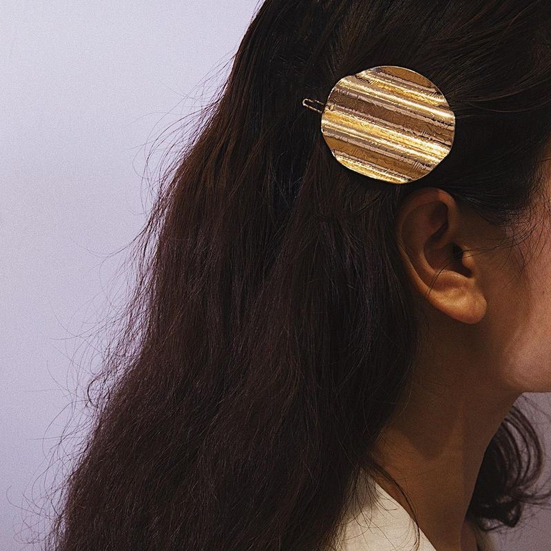 Vintage engraving simple hair accessory NHXR137883