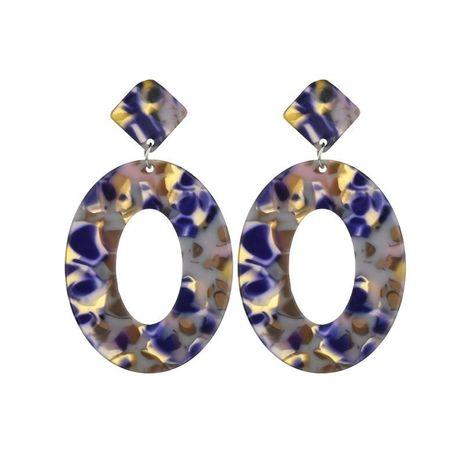 Womens Geometric Acrylic Earrings NHBQ138013's discount tags