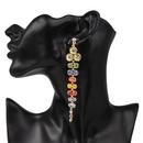 Womens Grapestudded Alloy Earrings NHJJ137806
