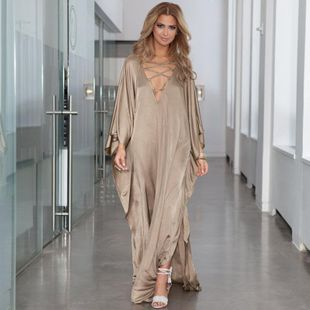 Alloy oversized loose dress with a blouse NHXW130746's discount tags