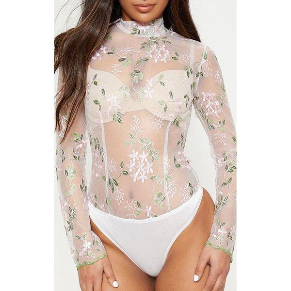 Fashion sexy collar long sleeve one lace shirt NHDF130806