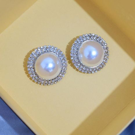 Vintage highlight beads stud earrings NHNT138244's discount tags