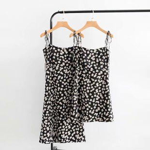 Longitud de verano dos vestidos con correa de margarita NHAM138524's discount tags