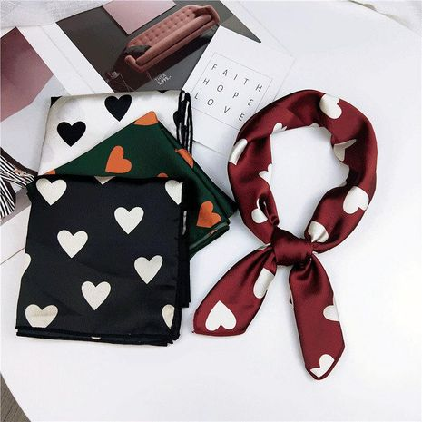 Twisted spring and autumn love small silk scarf NHMN138536's discount tags