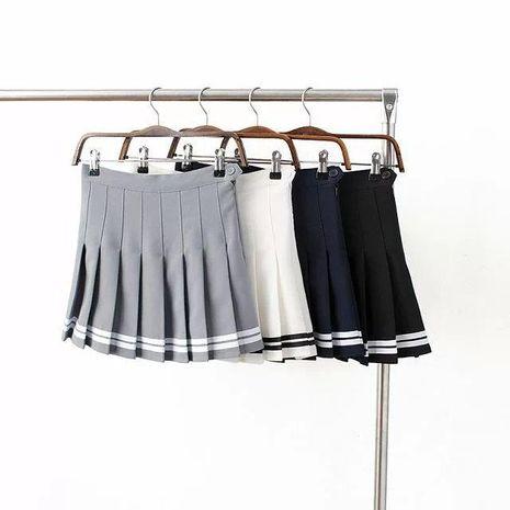 High waist pleated skirt tennis skirt skirt NHAM138585's discount tags