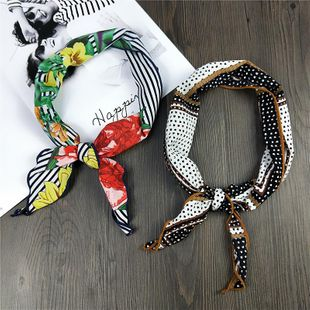Versión coreana de la pequeña bufanda coreana salvaje NHMN138592's discount tags