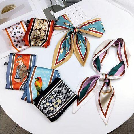Fashion spring and autumn wild scarf ribbon NHMN138602's discount tags