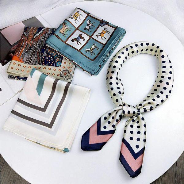 Fashion ins style literary small square NHMN138605