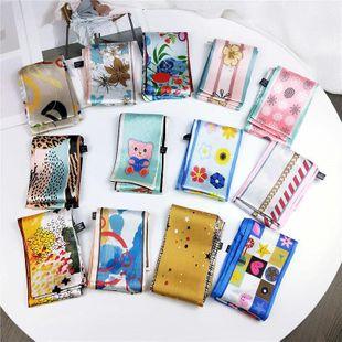 Bufanda coreana pequeña, larga y estrecha NHMN138610's discount tags