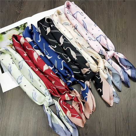 Summer wild Korean version of the scarf work professional scarf NHMN138609's discount tags