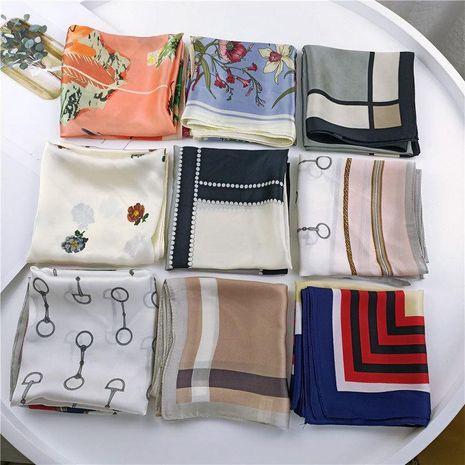 Korean professional small square scarf NHMN138611's discount tags