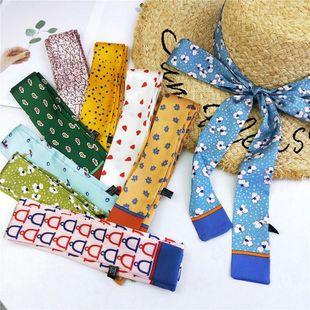 Moda delgada bufanda pequeña bufanda pequeña NHMN138612's discount tags