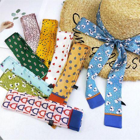 Fashion slim small scarf small scarf NHMN138612's discount tags