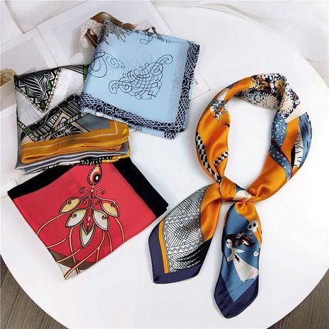 Summer wild literary scarf vintage scarf NHMN138613's discount tags