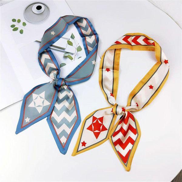 Fashion small streamers small scarf NHMN138614