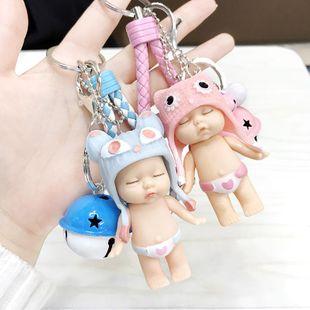 Lindo muñeco de dormir bolsa de cuerda para teléfono llavero de cuerda NHCB138632's discount tags