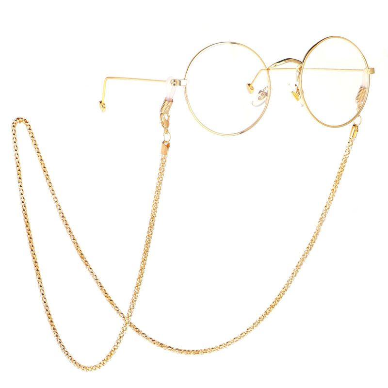 Cadena de gafas de metal de moda hueca NHBC130978