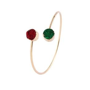 Round resin alloy bracelet NHGO131139
