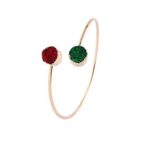 Round resin alloy bracelet NHGO131139's discount tags