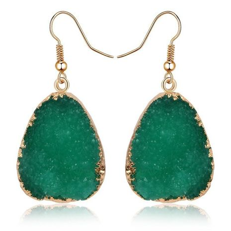 Long resin earrings NHGO131148's discount tags