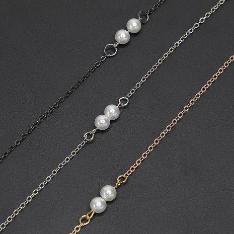 Alloy and alloy beads glasses chain NHBC131151's discount tags