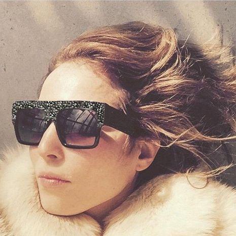 Fashion unisex rhinestone-encrusted sunglasses NHFY131175's discount tags