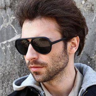 Fashion unisex large frame metal sunglasses multicolor NHKD131183's discount tags