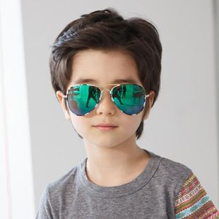Fashion childrens big box sunglasses multicolor NHFY131192's discount tags