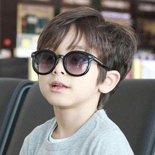 Fashion children round sunglasses multicolor NHKD131196's discount tags