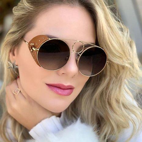 Fashion unisex punk sunglasses multicolor NHFY131210's discount tags